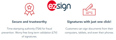 eZsign E-Signature App